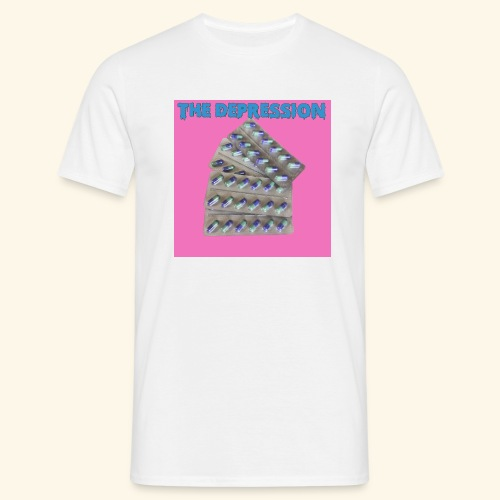 The Depresh. - Men's T-Shirt