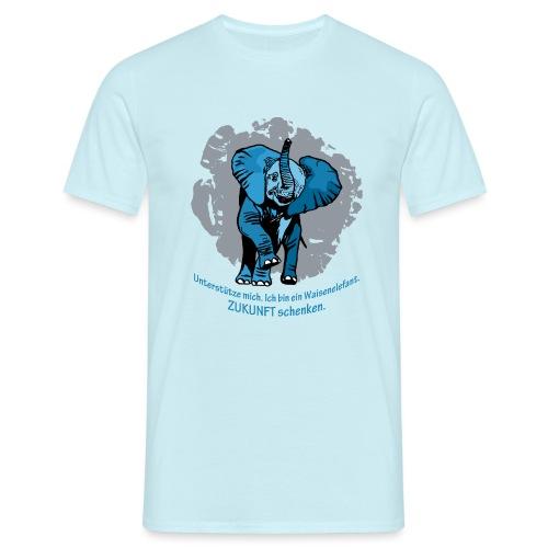Zukunft schenken - Männer T-Shirt