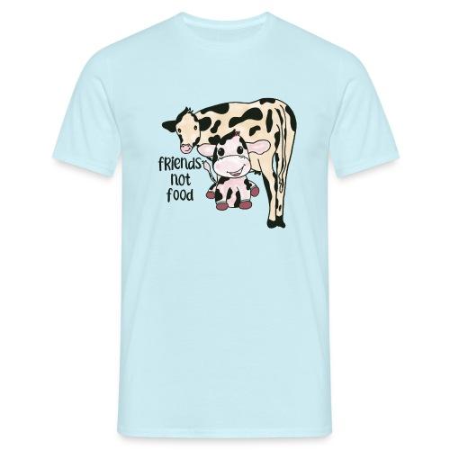 Friends not food - Men's T-Shirt