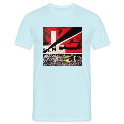 brücke und auge - Männer T-Shirt