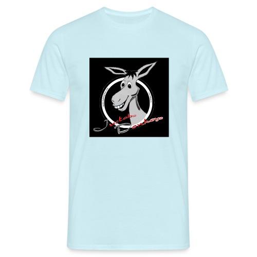 Justabs Donkeys black - Männer T-Shirt