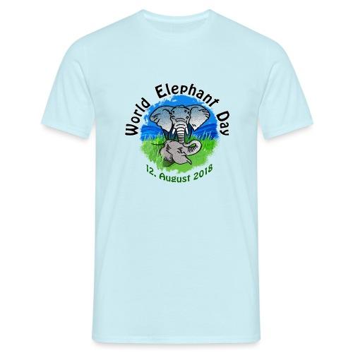 World Elephant Day 2018 - Männer T-Shirt
