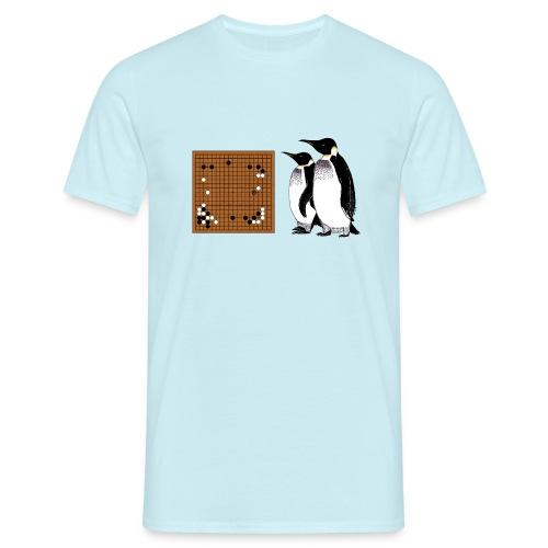 Go Penguins AlphaGo vs Lee Sedol png - Men's T-Shirt