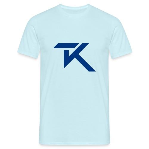 16874 2CTK Logo blue - Men's T-Shirt
