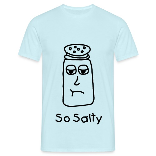 So Salty (Black Design) - Mannen T-shirt