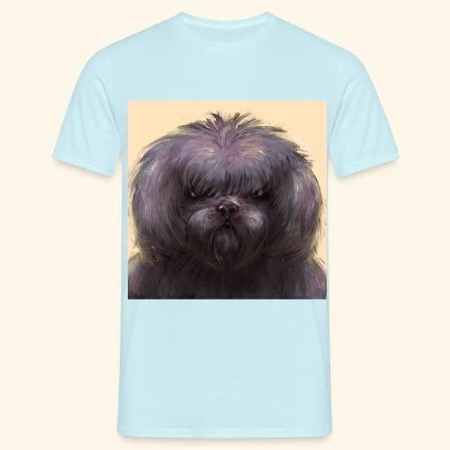 Dog Button - T-shirt herr