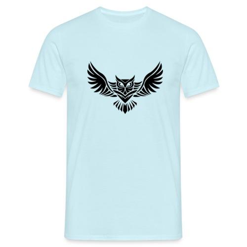 Hampan kläder owl - T-shirt herr