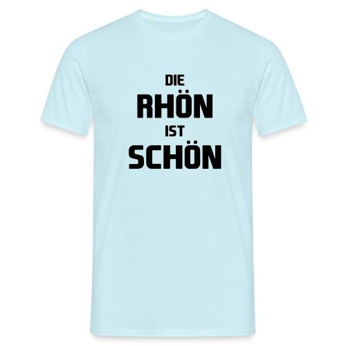 Die Rhön ist Schön! (Schwarz) - Männer T-Shirt