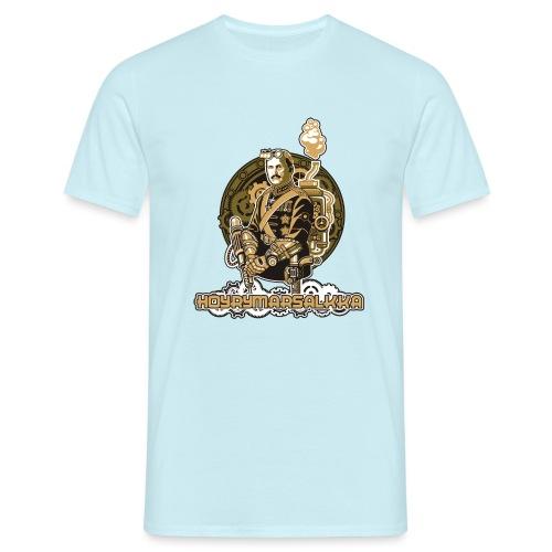 Höyrymarsalkan upea kangaskassi - Miesten t-paita