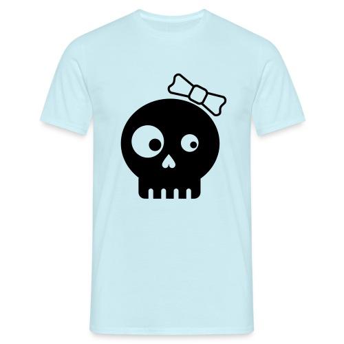 totenkopf bones minimalistic kids girl - Männer T-Shirt