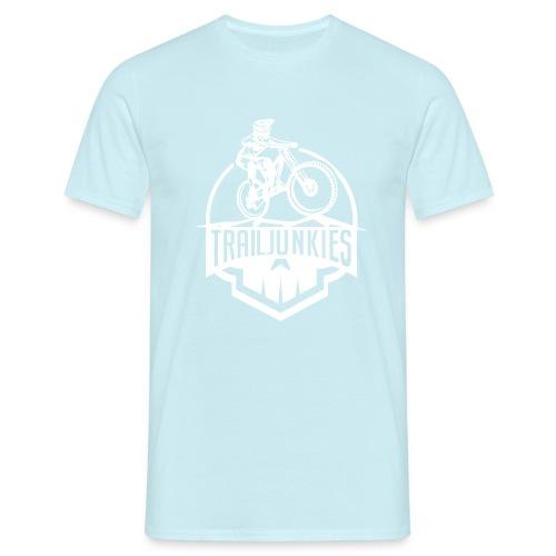 Trailjunkies Skullhelmet - Männer T-Shirt