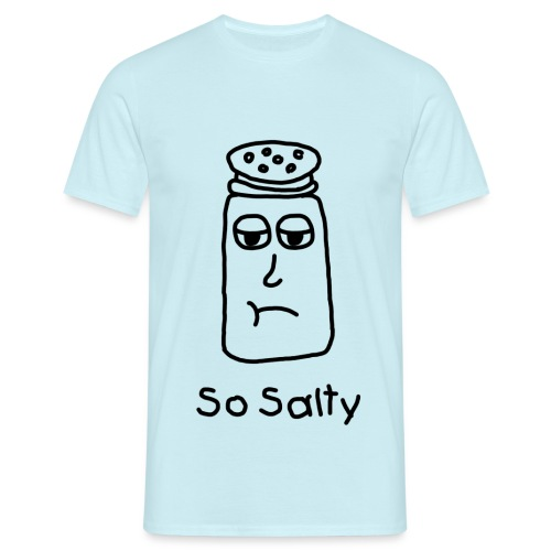 So Salty (Black Design) - Mannen T-shirt