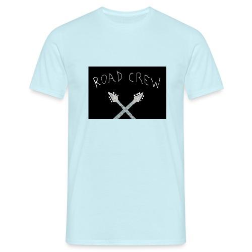 Road_Crew_Guitars_Crossed - Men's T-Shirt