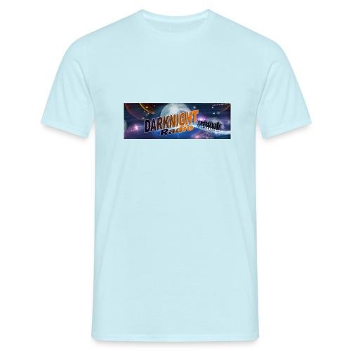Darknightradio logo - Maglietta da uomo
