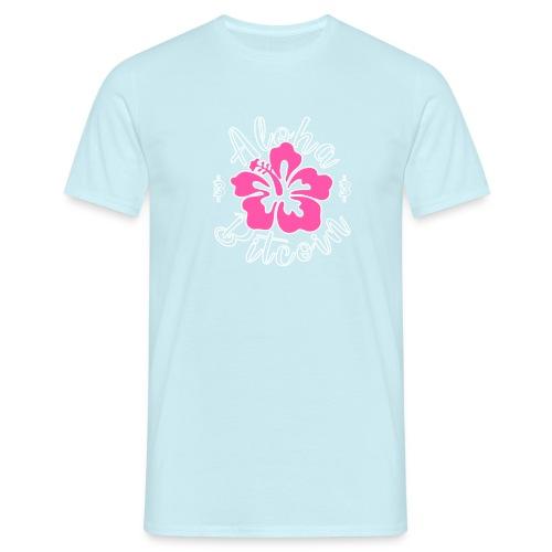 Aloha Bitcoin! - Camiseta hombre