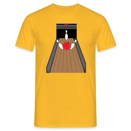 La piste de Bowling - T-shirt Homme
