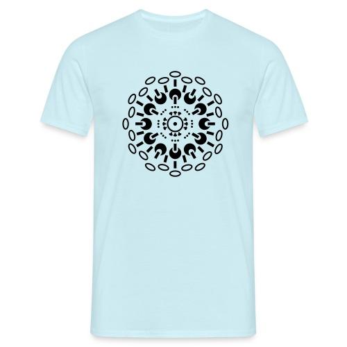Sole fungiere - Men's T-Shirt