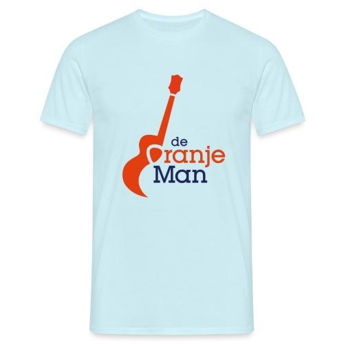 de oranje man wilhelmus hoekstra logo groot - Mannen T-shirt