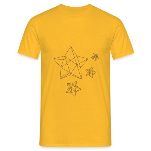 Sternenhimmel Diamant - Männer T-Shirt