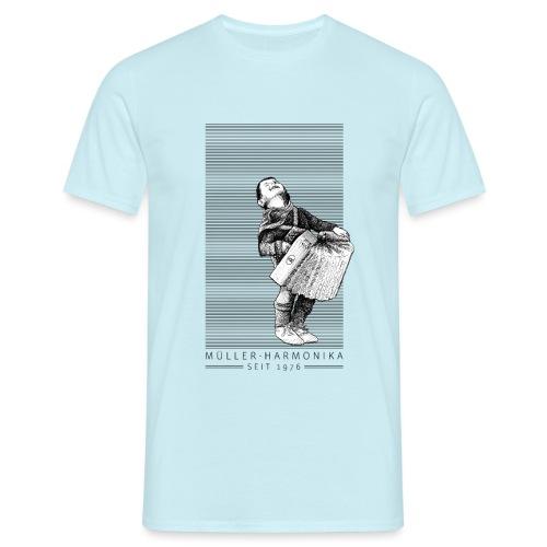 Der Bub mit der Harmonika - Männer T-Shirt