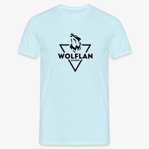 WolfLAN Gaming Logo Black - Men's T-Shirt