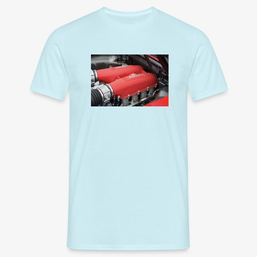 Supercar Engine - Men's T-Shirt