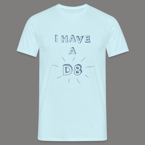 DATE blue - T-shirt Homme