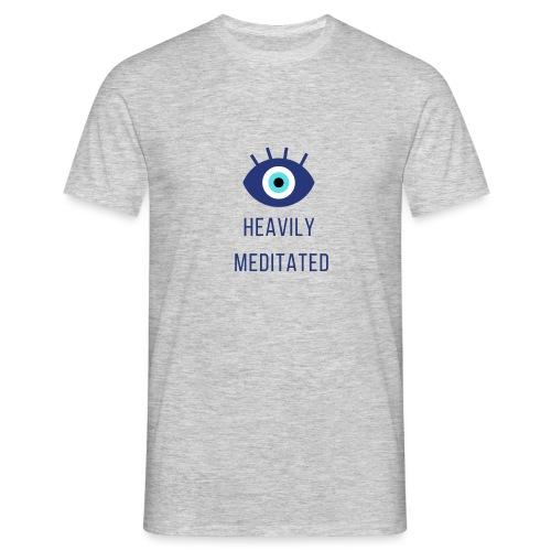 Heavily meditated yoga T-shirt - Mannen T-shirt