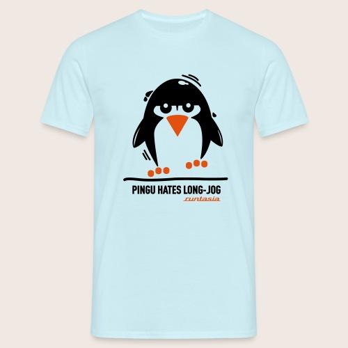 Pingu hates long jog 1 - Männer T-Shirt