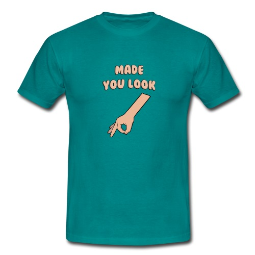 Made You Look Circle Game - Men's T-Shirt
