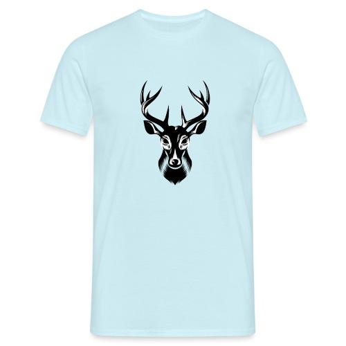 Hirsch Deer - Männer T-Shirt