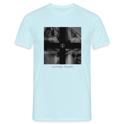 Gynoid Audio Cross - Men's T-Shirt