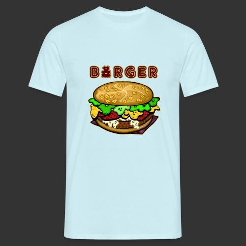 Burger Bear meets Bärenlust - Männer T-Shirt