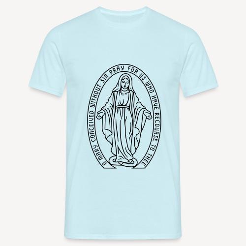 MIRACULOUS MEDAL - Men's T-Shirt