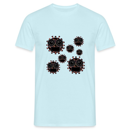 virus eseguire coronavirus covid19 allarme virus - Maglietta da uomo
