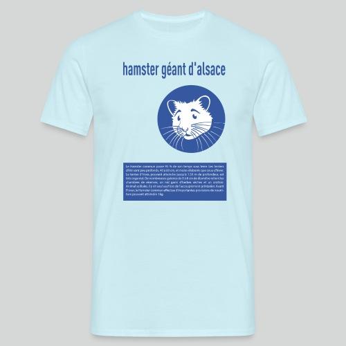 hamster geant d alsace - T-shirt Homme