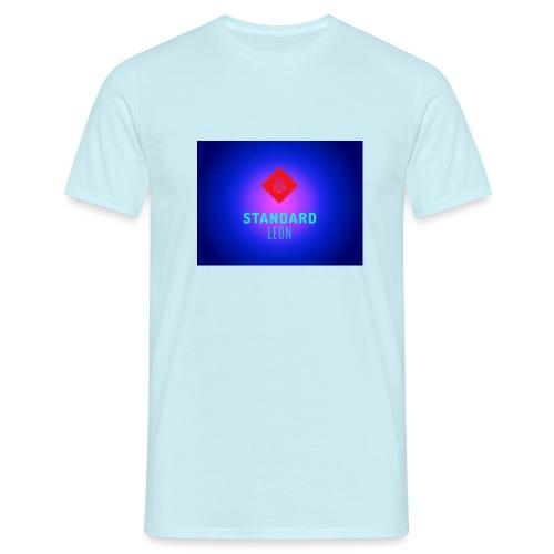 StandardLeon YouTube Logo - Männer T-Shirt