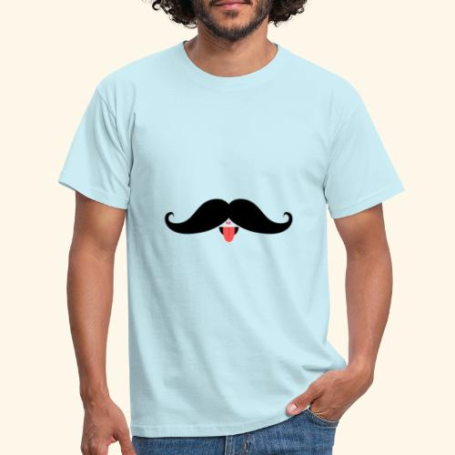 Fresh Moustache - Männer T-Shirt