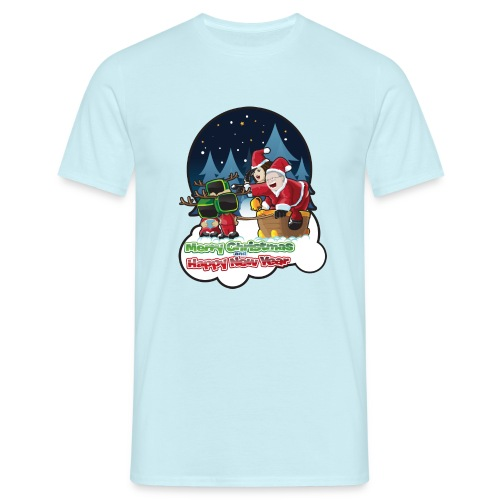 Merry Christmas And Happy New Year - Men's T-Shirt
