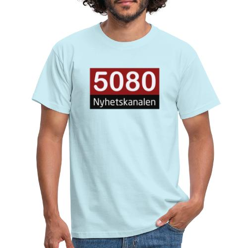 5080 nyhetskanalen logo - T-skjorte for menn