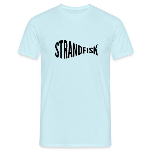 Fancy Strandfisk fisk - T-skjorte for menn