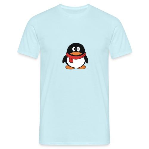 pinguinlog png - Mannen T-shirt