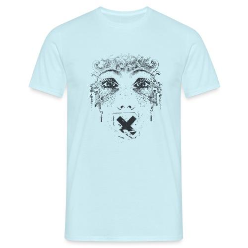 Zensur - Männer T-Shirt