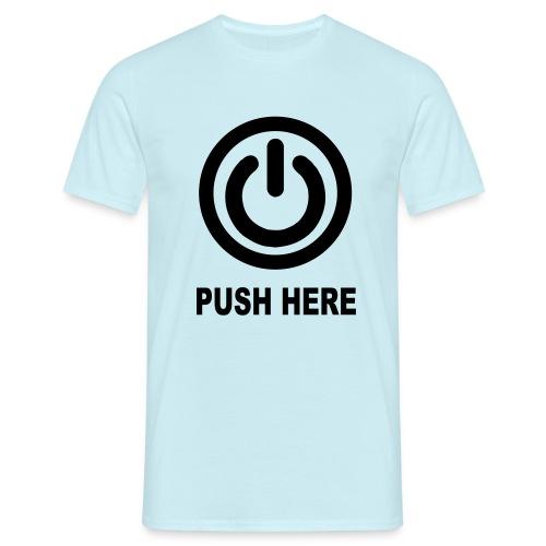 POWER - Mannen T-shirt