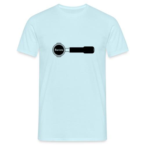 Siebträger Barista horiz - Männer T-Shirt