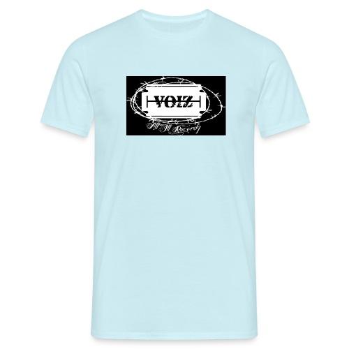 VOIZ schwarzes shirt - Männer T-Shirt