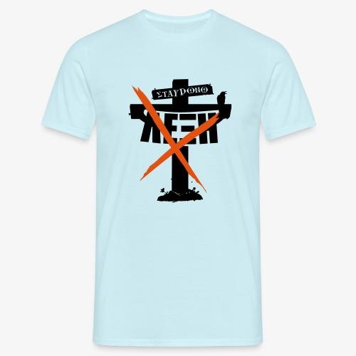 den stavrono leksi - Men's T-Shirt
