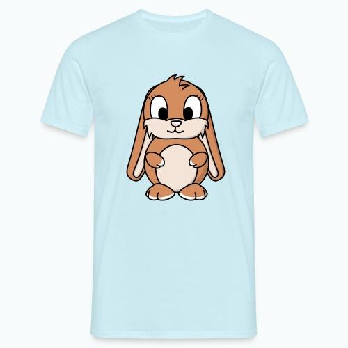 Lily Bunny - Appelsin - T-shirt herr