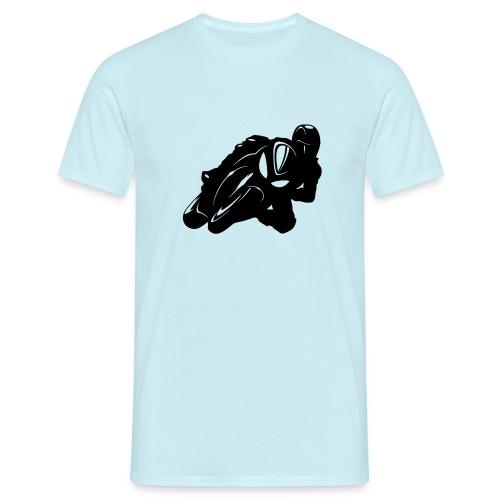 Biker Silhouette - Männer T-Shirt