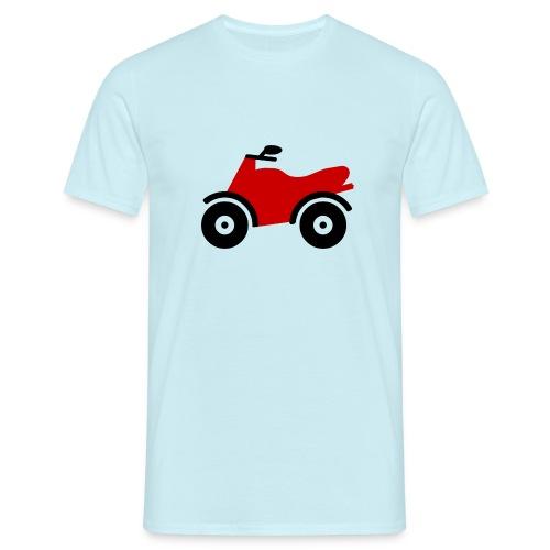 Bike Comic - Männer T-Shirt